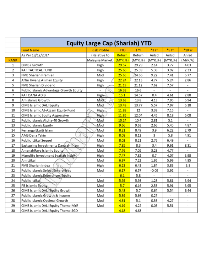 Large Equity YTD